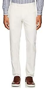 Incotex Men's S-Body Slim Cotton-Blend Trousers - White
