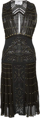 Murad Zuhair Nimphea Studded Mini Dress