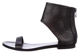 AllSaints Perforated Leather Sandals