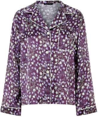 Morgan Lane Jayne Silk Pyjama Top