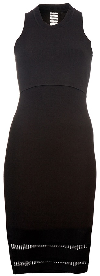 Alexander Wang Fitted knit dress