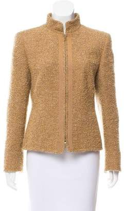 Akris Wool And Mohair-Blend Jacket