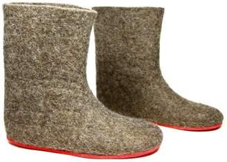 "Felt Forma Eco Wool Felt Boots ""Earth"""
