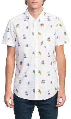 RVCA Margo Woven Slim Fit Shirt