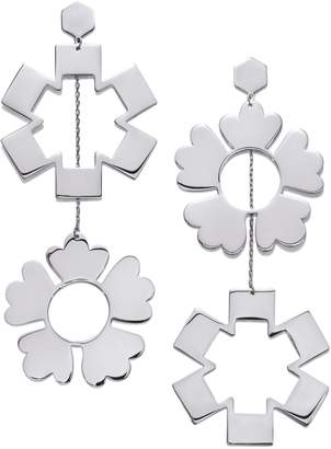 Tory Burch MISMATCHED DROP EARRING