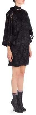 Fendi Floral Lace Dress