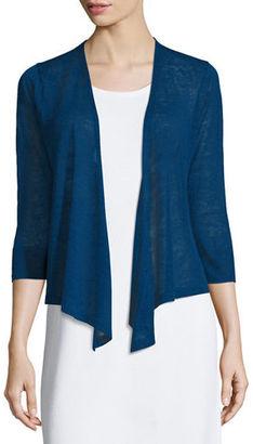 NIC+ZOE 4-Way Linen-Blend Cardigan $98 thestylecure.com
