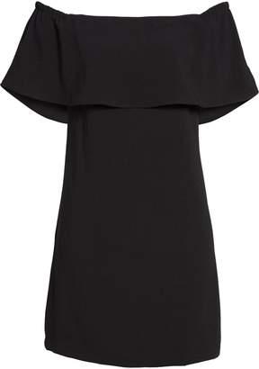 Charles Henry Off the Shoulder Dress