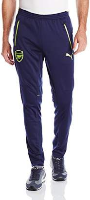 Puma Men's AFC Training Pants with 2 Side Pockets with Zip