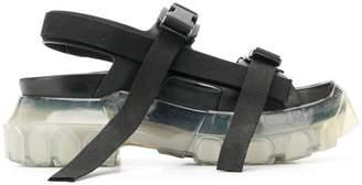 Rick Owens tractor platform sandals