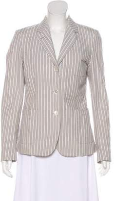 Black Fleece Striped Seersucker Blazer