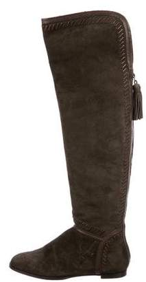 Jimmy Choo Over-The-Knee Suede Boots