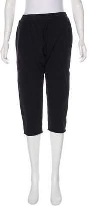 OAK Cropped High-Rise Sweatpants