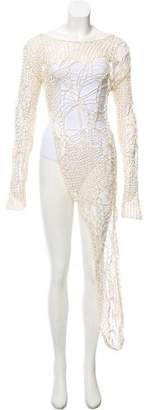 Isabel Benenato Long Sleeve Cover up
