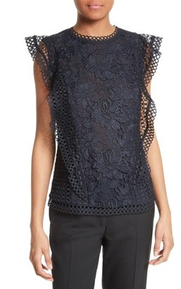 Women's Ted Baker London Zania Lace Top $239 thestylecure.com