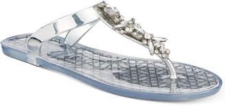 Badgley Mischka Gracia Thong Flat Sandals Women's Shoes