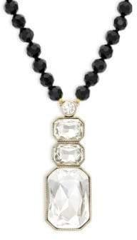 Heidi Daus Ice Single Strand Pendant Necklace