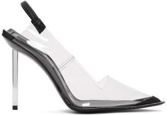 Alexander Wang Transparent PVC Marlow Heels