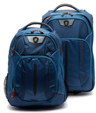 Traveler's Choice Rolling Upright & Backpack 2-Piece Set