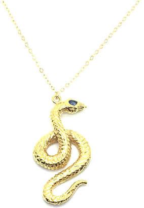 Kundalini My Bohemia Jewelry Gold Serpent Pendant Necklace