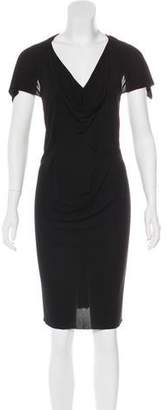 Roland Mouret Sleeveless Knee-Length Dress