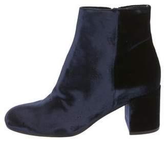 Vince Velvet Ankle Boots