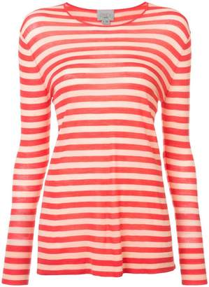 Jason Wu GREY striped fitted sweater
