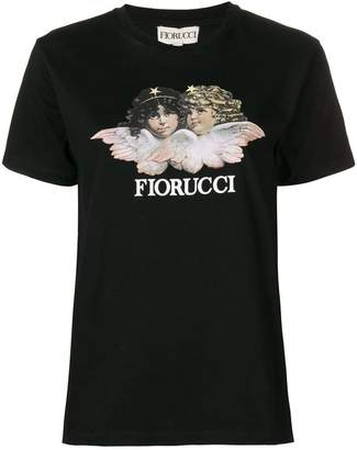 Fiorucci cherub print T-shirt