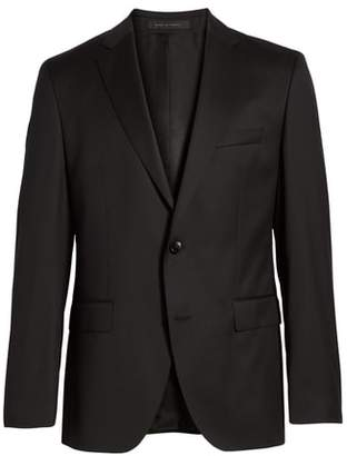 BOSS Johnstons CYL Classic Fit Solid Wool Sport Coat