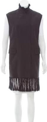 3.1 Phillip Lim Wool Fringe-Trimmed Vest