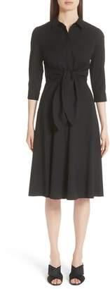Lafayette 148 New York Mariel Tie Waist Dress