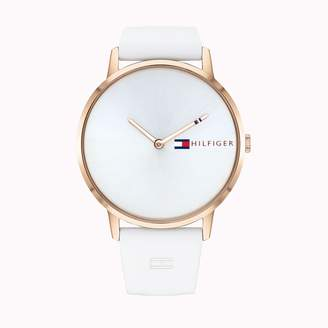Tommy Hilfiger Ultra Slim Watch With Silicone Strap