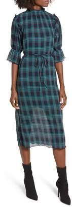 The Fifth Label Zone Tartan Midi Dress