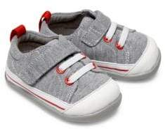 See Kai Run Baby's Stevie II Heathered Sneakers - Grey - Size 5 (Baby)