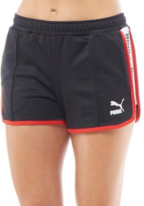 Puma Womens Super Short Shorts Black