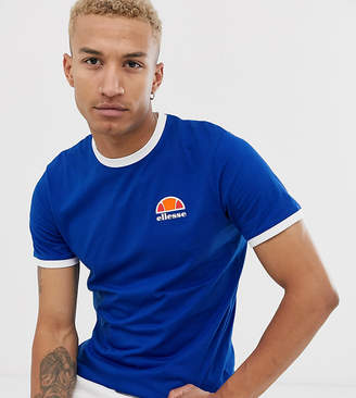 Ellesse Cubist t-shirt in cobalt blue exclusive at ASOS
