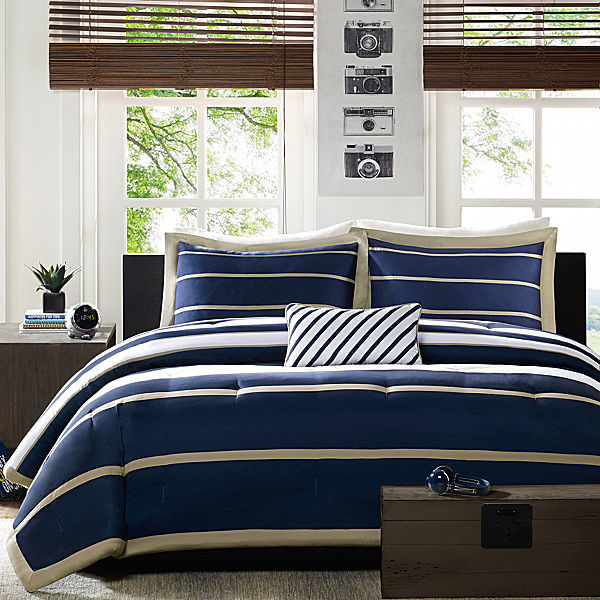 JCPenney Mi Zone Garrett Striped Comforter Set