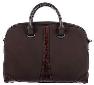 Tumi Leather-Trimmed Vintage Bag