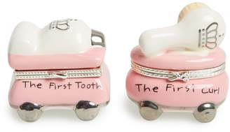 Mud Pie 'Princess' First Tooth & Curl Treasure Box Set