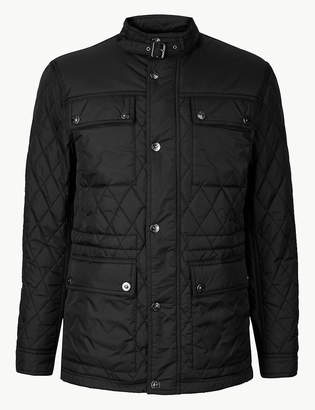 Marks and Spencer Quilted Jacket with Stormwear