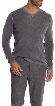 Autumn Cashmere Reverse Seam Cashmere Sweater