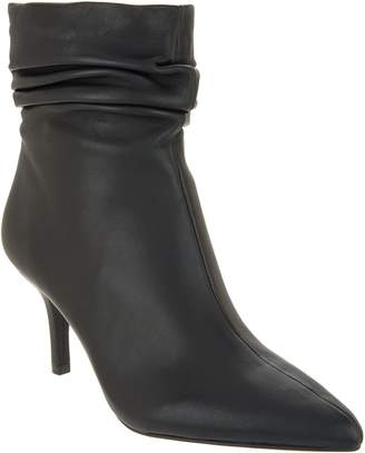 Vince Camuto Leather Ankle Boots - Abrianna