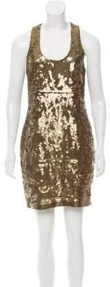 Robert Rodriguez Embellished Mini Dress