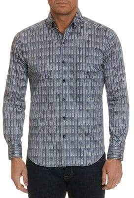Robert Graham Banyan Graphic-Print Button-Down Shirt