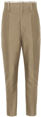 Etoile Isabel Marant Isabel Marant, étoile Goah high-rise straight cotton pants