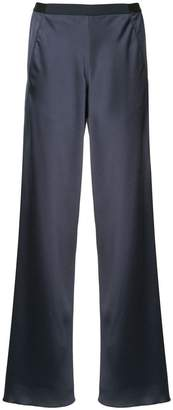 CHRISTOPHER ESBER twisted hem wide leg trousers