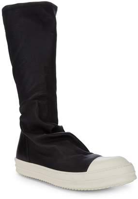 Rick Owens Slip-On Mid-Calf Boots