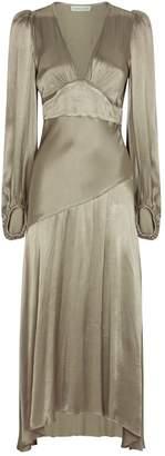 Shona Joy Plunge Joan Midi Dress