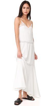 Theory Walela Maxi Dress $555 thestylecure.com