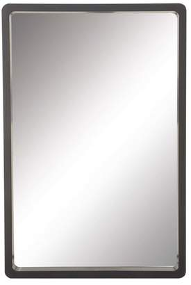 Brimfield & May Contemporary Rectangular MDF Wood Wall Mirror